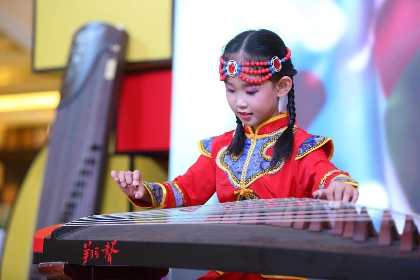 重庆儿童古筝演奏
